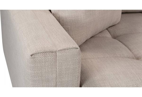 Модульный диван Брайтон вариант №2 бежевый (Рогожка) - фото 10