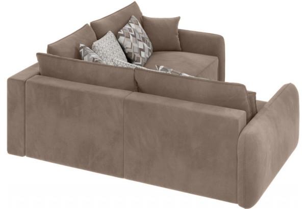 Модульный диван Портленд вариант №6 тёмно-бежевый (Микровелюр) - фото 2