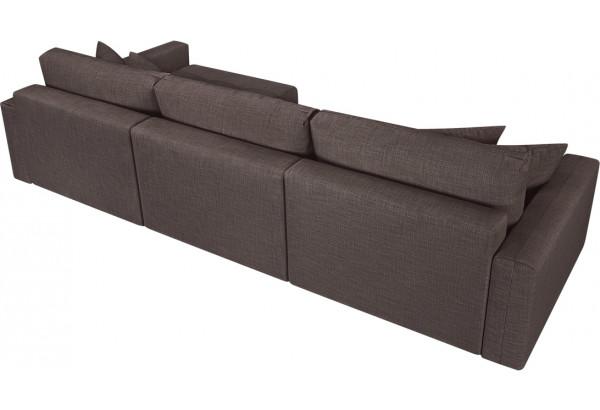 Модульный диван Брайтон вариант №3 графитовый (Рогожка) - фото 5