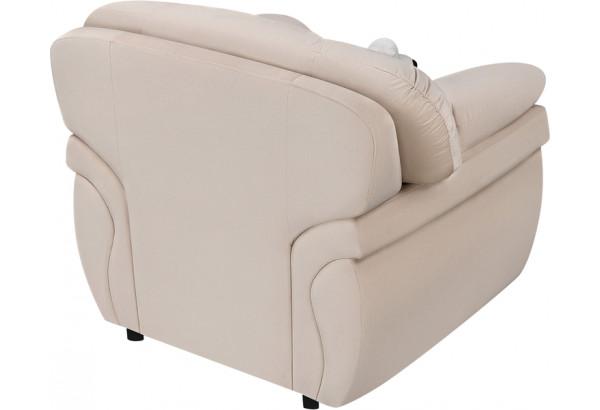 Кресло тканевое Бристоль бежевый (Велюр) - фото 4