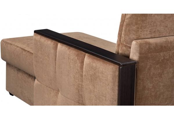 Диван тканевый угловой Валенсия-1 коричневый (Вельвет) - фото 10