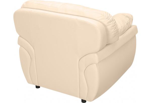 Кресло кожаное Бристоль Бежевый (Кожаное изделие) - фото 3