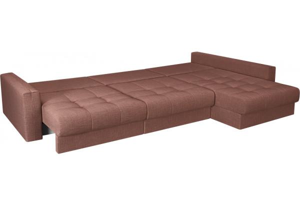 Модульный диван Брайтон вариант №3 розовый (Рогожка) - фото 6