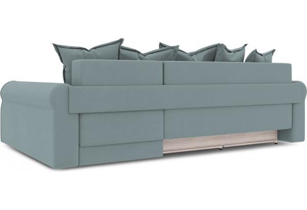 Диван угловой правый «Люксор Т2» (Poseidon Lagoon (иск.замша) бледно-бирюзовый) - фото 4