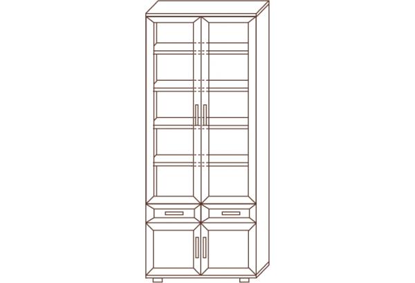 Шкаф для книг №169 - фото 2