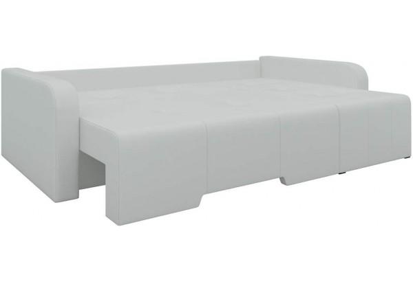 Угловой диван Манхеттен Белый (Экокожа) - фото 2