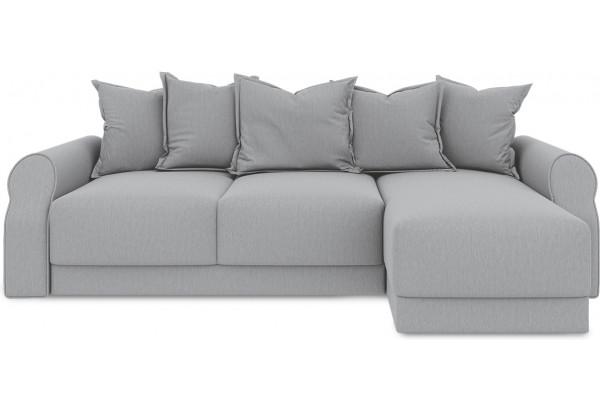 Диван угловой правый «Люксор Т1» (Poseidon Grey (иск.замша) серый) - фото 2