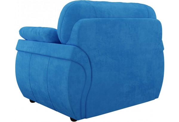 Кресло Бруклин Голубой (Велюр) - фото 4