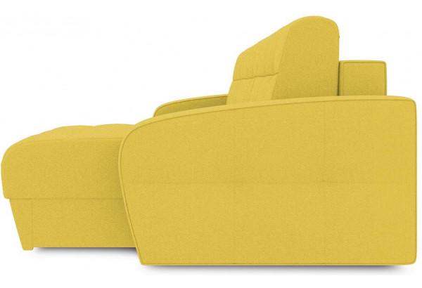 Диван угловой правый «Аспен Т1» (Neo 08 (рогожка) желтый) - фото 5