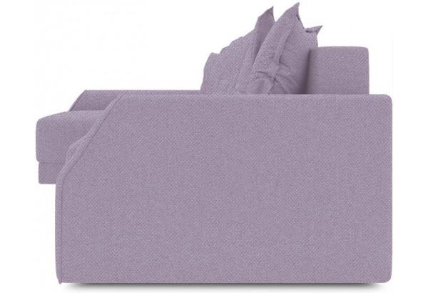 Диван угловой левый «Люксор Slim Т2» (Neo 09 (рогожка) фиолетовый) - фото 3