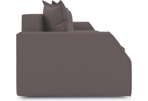 Диван «Люксор Slim» Neo 12 (рогожка) коричневый - фото 4