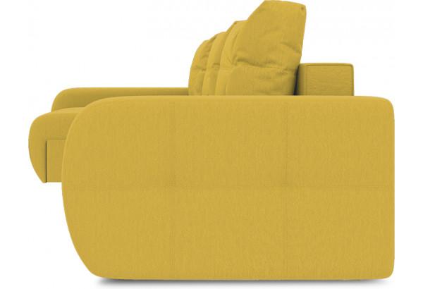 Диван угловой левый «Томас Slim Т2» (Poseidon Curcuma (иск.замша) желтый) - фото 3