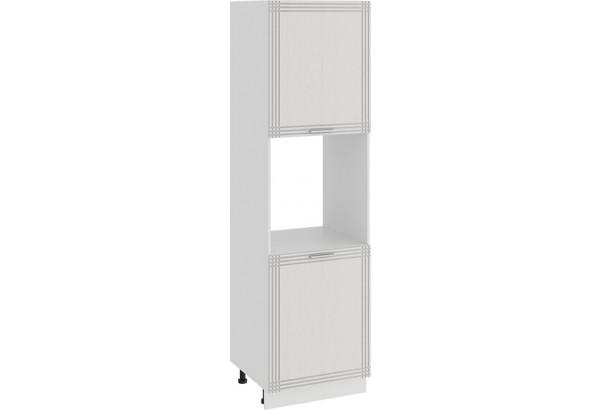 Шкаф-пенал под бытовую технику с двумя дверями «Ольга» (Белый/Белый) - фото 1