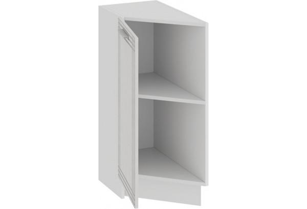 Шкаф напольный торцевой с одной дверью «Ольга» (Белый/Белый) - фото 2