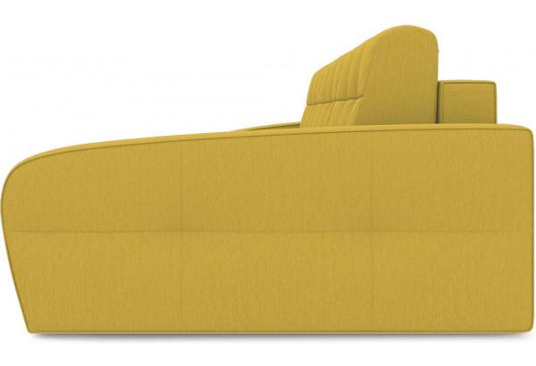 Диван угловой правый «Аспен Т2» (Poseidon Curcuma (иск.замша) желтый) - фото 4