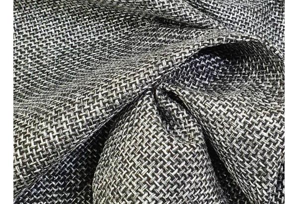 Угловой диван Митчелл Серый/черный (Рогожка/Экокожа) - фото 9
