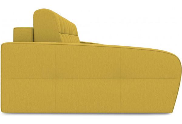 Диван угловой левый «Аспен Т2» (Poseidon Curcuma (иск.замша) желтый) - фото 4