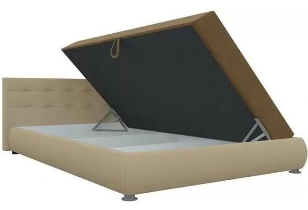 Тахта - кровать Рио бежевый/бежевый (Микровельвет) - фото 3