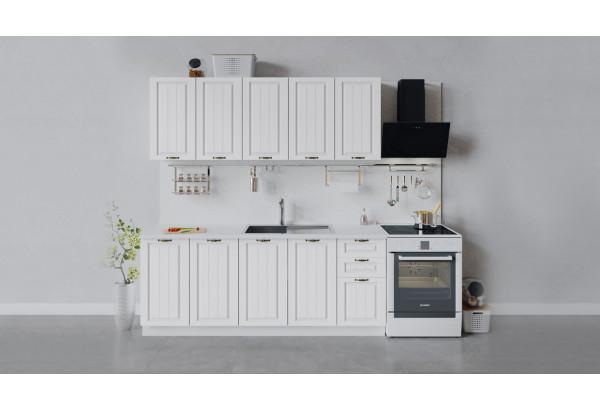 Кухонный гарнитур «Лина» длиной 200 см (Белый/Белый) - фото 1