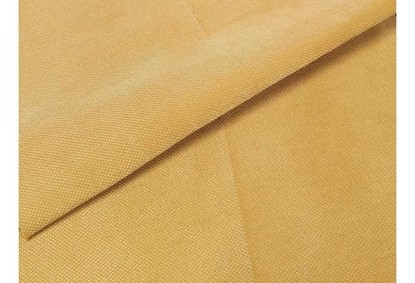 П-образный модульный диван Холидей Люкс Желтый (Микровельвет) - фото 8
