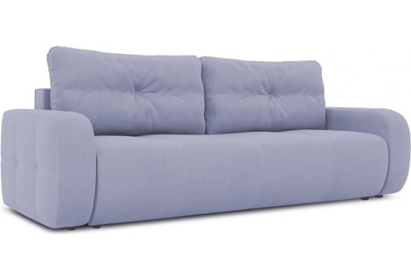 Диван «Томас» (Poseidon Blue Graphite (иск.замша) серо-фиолетовый) - фото 1
