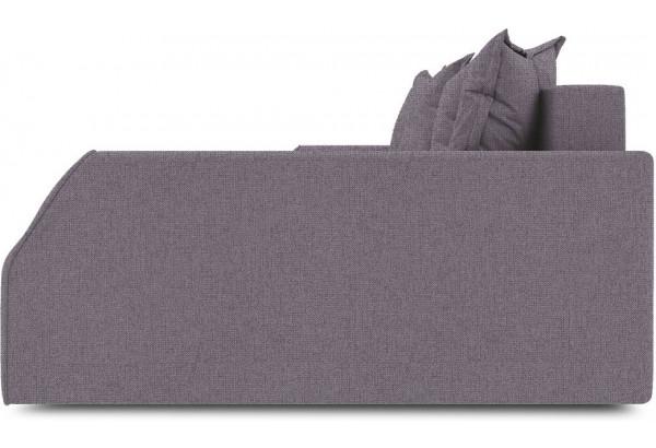 Диван угловой правый «Люксор Slim Т2» (Levis 68 (рогожка) Темно - фиолетовый) - фото 5