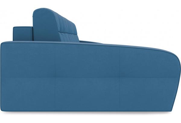 Диван угловой левый «Аспен Т2» Beauty 07 (велюр) синий - фото 4