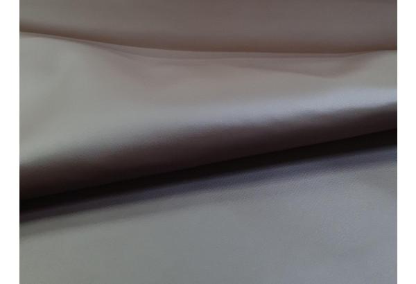 Диван прямой Панда бежевый/коричневый (Экокожа) - фото 5