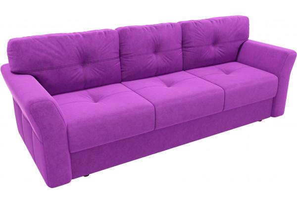 Диван прямой Манхеттен Фиолетовый (Микровельвет) - фото 4