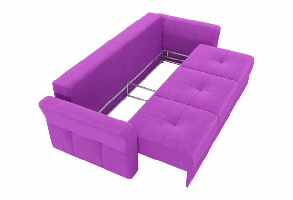 Диван прямой Манхеттен Фиолетовый (Микровельвет) - фото 6