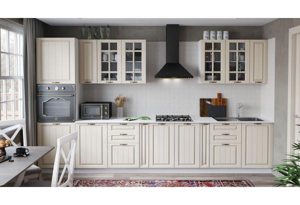 Кухонный гарнитур «Лина» №1 (Белый/Крем) - фото 1