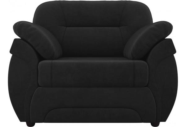 Кресло Бруклин Черный (Велюр) - фото 2