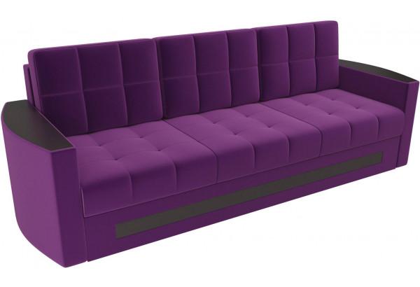 Диван прямой Белла Фиолетовый (Микровельвет) - фото 4