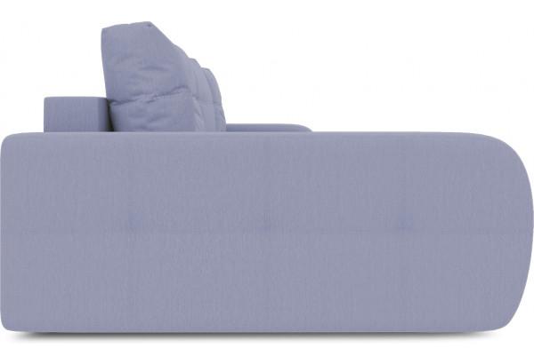 Диван угловой левый «Томас Slim Т2» (Poseidon Blue Graphite (иск.замша) серо-фиолетовый) - фото 5