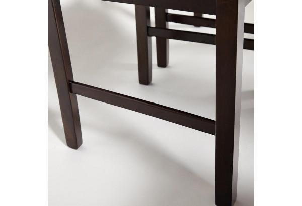 """Обеденный комплект эконом """"Хадсон"""" темный орех \ кор.-зол. (стол + 4 стула) - фото 7"""