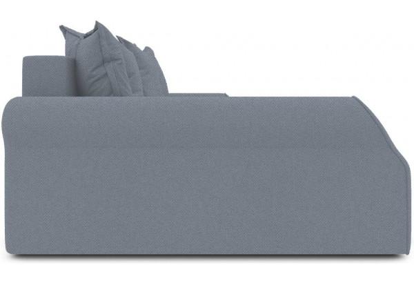 Диван угловой левый «Люксор Т2» (Neo 07 (рогожка) светло-серый) - фото 5