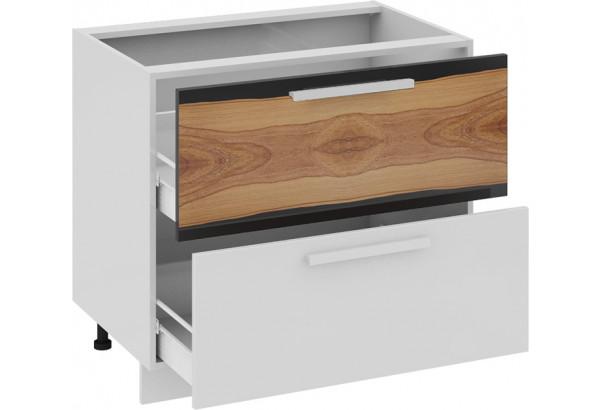 Шкаф напольный с 2-мя ящиками Фэнтези (Вуд) - фото 1