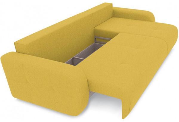 Диван угловой правый «Томас Т1» (Neo 08 (рогожка) желтый) - фото 6