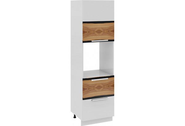 Шкаф пенал под бытовую технику с 2-мя ящиками (правый) Фэнтези (Вуд) - фото 2
