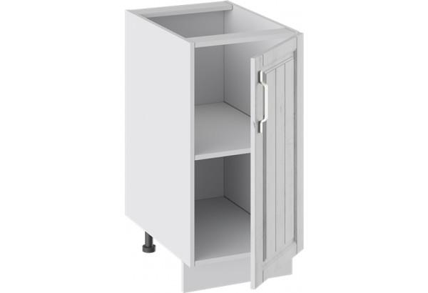 Шкаф напольный (ПРОВАНС (Белый глянец/Санторини светлый)) - фото 2