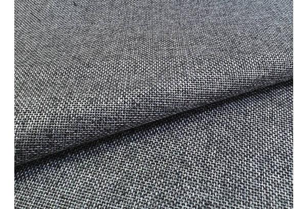 Угловой диван Митчелл Серый/черный (Рогожка/Экокожа) - фото 8