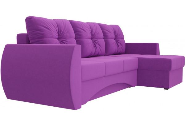 Угловой диван Сатурн Фиолетовый (Микровельвет) - фото 3