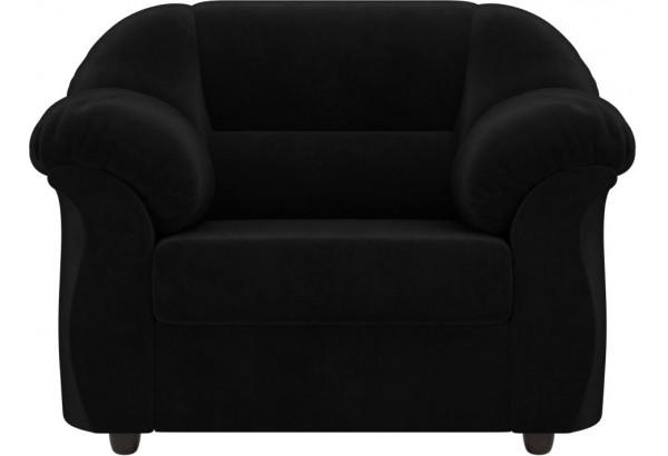 Кресло Карнелла Черный (Велюр) - фото 2
