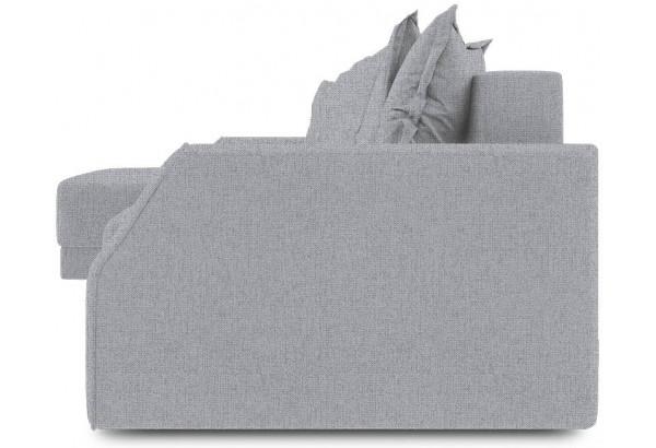 Диван угловой левый «Люксор Slim Т1» (Levis 85 (рогожка) Темно-серый) - фото 3