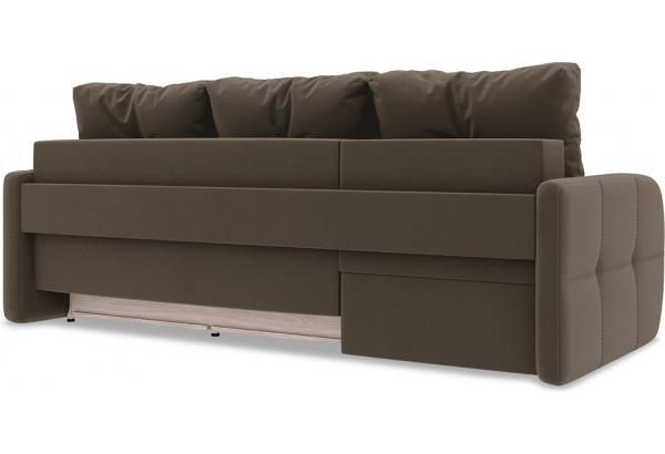 Диван угловой левый «Томас Slim Т1» Beauty 04 (велюр) коричневый - фото 4