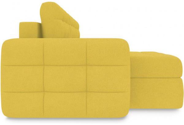 Диван угловой левый «Райс Т1» (Neo 08 (рогожка) желтый) - фото 5