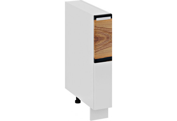 Шкаф напольный с выдвижной корзиной Фэнтези (Вуд) - фото 2