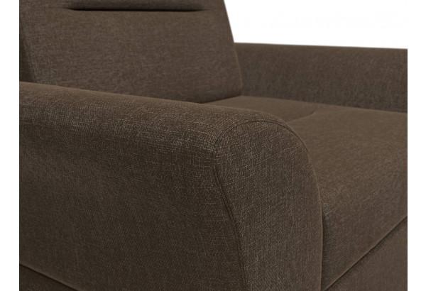 Кресло Клайд Коричневый (Рогожка) - фото 4