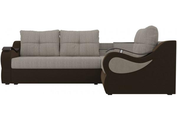 Угловой диван Митчелл Корфу 02/коричневый (Корфу/Микровельвет) - фото 2