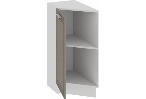 Шкаф напольный торцевой с одной дверью «Ольга» (Белый/Кремовый) - фото 2
